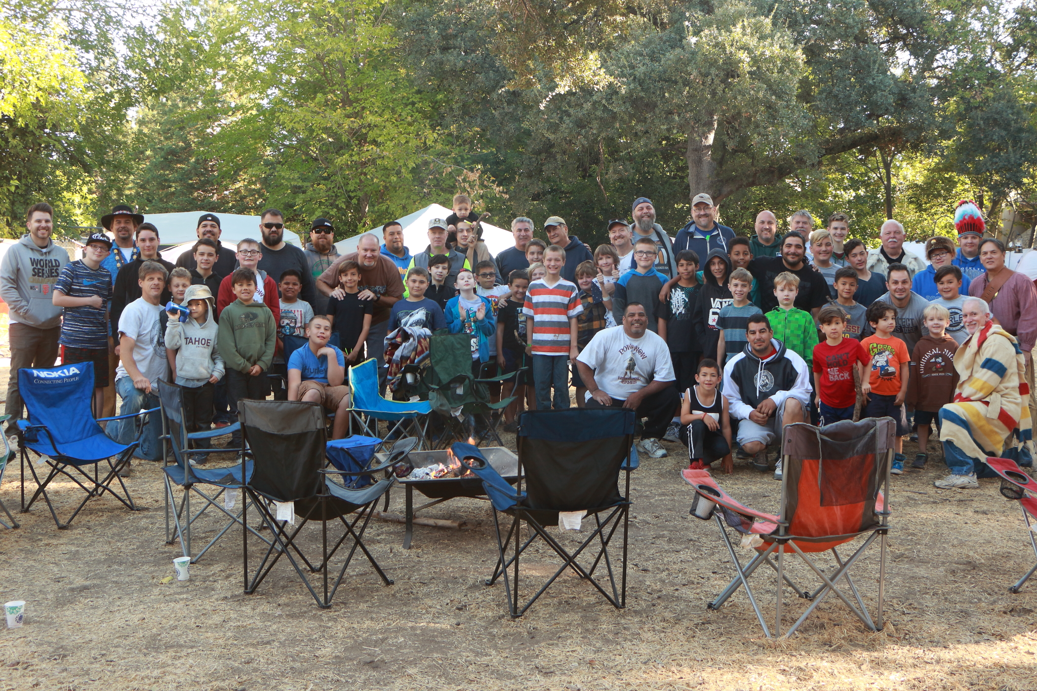 Group Picture 2017 Father-Son Camp