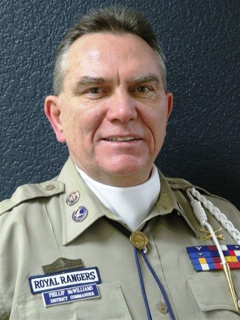 Phillip McWilliams, District Commander